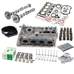 Cylinder Head And Camshaft And Head Bolt Kit Fit For Audi Vw Skoda 1.8 2.0 Tsi Tfsi
