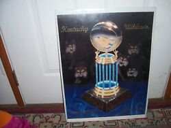 000 Rare 1998 Ncaa Champions National Kentucky Wildcats Authentic Poster