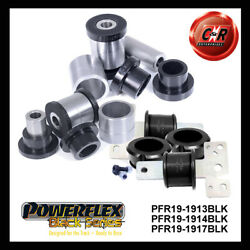 Powerflex Black Ford Mondeo Mk4 07-14 Rr Low Arm In + Out And Trail Arm Bushes