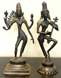 Antique South East Asian Bronze Statues