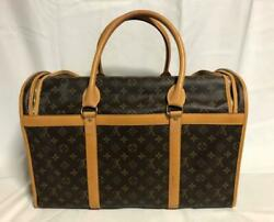 Louis Vuitton Sac Chien 50 Carrying Bag For Medium-sized Dogs F/s From Japan