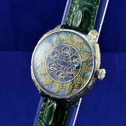 Luxury Watch - Arabic Style - Omega Reverse Vintage Movement - Dial With Mop