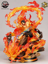 Jz Studio One Piece Portgas·d· Ace Gk Collector Resin Model Limited Statues