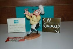 WDCC The Little Mermaid Chef Louis and Sebastian Disney Collections W COA $199.99