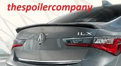 2019-2021 Pre-painted Rear Trunk Lip Spoiler Fits Acura Ilx Sedan - Any Color