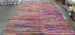 Pink / Multi 10and039 X 14and039 Back Stain Rug Reduced Price 1172567403 Nan142a-10