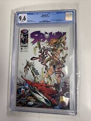 Spawn 9 1993 Image Comics Cgc 9.6 White Pages First Angela