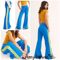 Free People Shes A Rainbow Sport Flare Pants Size Medium Nwt