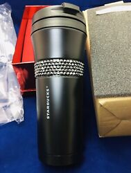 ❤️starbucks Tumbler Stainless Steel Black Limited Edition,new In Box❤️