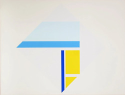 Ilya Bolotowsky Series 4 Screenprint Signed And Numbered In Pencil