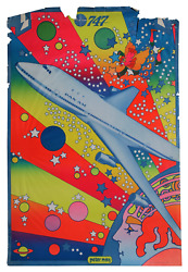 Peter Max, Pam Am 747, Poster