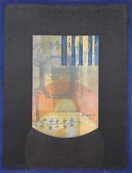 Michael David Black From The Being Series Lithograph Signed And Numbered In P