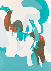 James Brooks The Spring Screenprint Signed And Numbered In Pencil
