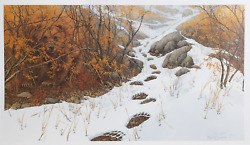 Bev Doolittle Doubled Back Offset Lithograph Signed In The Plate Numbered In