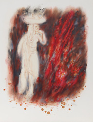 Reuven Rubin Iv From Visions Of The Bible Lithograph Signed And Numbered In P