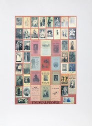 Peter Blake U Is For Unusual People Silkscreen Signed Numbered And Titled I