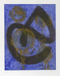 John Hoyland The Sorcerer Etching And Aquatint Signed Numbered And Dated In