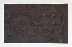 Pat Passlof, Untitled 4, Monotype, Signed And Dated