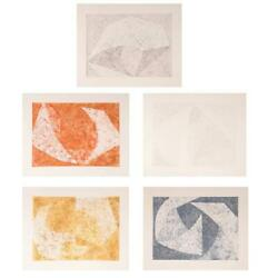 William Fares, The Tempered Portfolio, Five Etchings In Folio, Each Signed And N