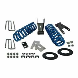 Ford Racing M-3000-h4a Lowering Kit Complete Lowers Front Height Approx. 1.5 In.