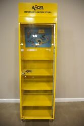Accel Illuminated Ignition Systems Display Cabinet Case Gas Service Station Ok