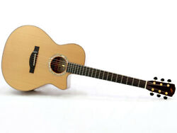 Morris S-92iiigt Natural Cedar Mahogany Body With Hard Case Fedex From Japan