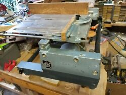 Elu Tgs 172 Table Saw Miter Flip Chop Saw All Original Accessories + Papers Rare