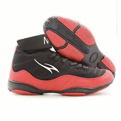 Men Boxing Training Boot Black Red Wrestling Shoes Comfortable Footwear Unisex
