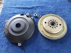 1988 Yamaha Outboard Flywheel And Cover Assembly 40 Hp 50hp F3t424