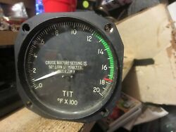 The Lewis Engineering Co Thermocouple Indicator Temp Type As413 Type Ii Fx100