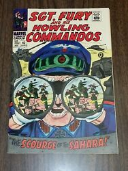 Sgt Fury And His Howling Commandos 43 Vf/nm 9.0 June 1967 Marvel