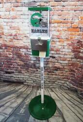 Vintage Gumball Candy Machine + Stand Restored Philadelphia Eagles