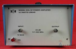 Eni 510l Amplifier 1.7 To 500mhz 9.5 Watts