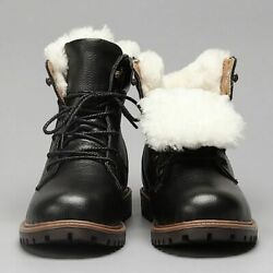 Men Winter Boots Size 3548 Warmest Genuine Leather Russian Style Snow Shoes New
