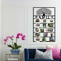 Metal Family Tree For Photo Display Custom Personalized Tree Of Life Art 5288