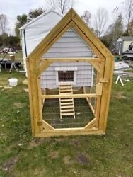 Medium Chicken Coop With Run Local Pickup Only