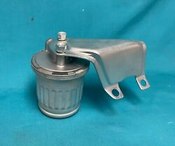 1957-58 Original Corvette Rochester Fuel Injection Fuel Filter With Brk And Bolts