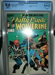 Kitty Pryde And Wolverine 6 Cbcs 9.6 Wp 1985 Chris Claremont Story Not Cgc