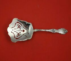 Les Cinq Fleurs By Reed And Barton Sterling Silver Saratoga Chip Server 9 1/2