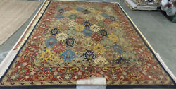 Multi / Burgundy 11and039 X 15and039 Damaged Rug Reduced Price 1172597153 Hg911a-1115