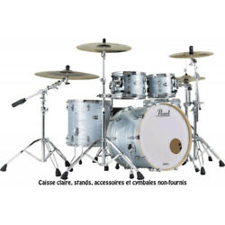 Pearl Mct924xepc-414 - Batterie Masters Maple Complete Rock 22 4 Fanducircts - Ice Bl