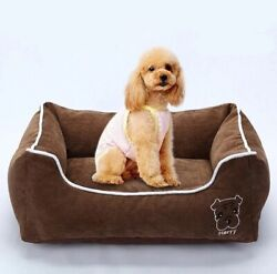 Pet Bed Deluxe Soft Bed Pet House Puppy Dog Moisture Proof Bottom