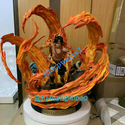 Lbs One Piece Portgas·d· Ace Resin Model Painted Statue 1/4 Scale 27''h In Stock