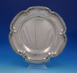 Marie Antoinette By Boulenger French Sterling Silver Serving Plate 4922