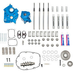 Sands 540 Gear Drive Cooled Camshaft Plate Oil Pump Camchest Kit Harley Touring M8