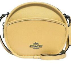 NWT Coach Canteen Leather Cross Bag $165.00