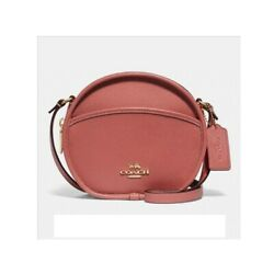 NWT $278 Coach Canteen Leather Cross Bag $150.00