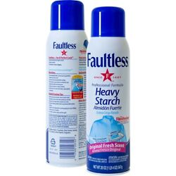 Faultless Fresh Scent Heavy Starch Spray 20 Oz Pack Of 12