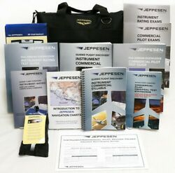 Complete Pilot Training Kit By Jeppesen Instrument / Commercial Part 141 Ifr