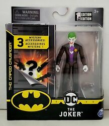 Dc The Caped Crusader The Joker 1st Edition Action Figure Spin Master 2020 New